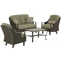 3 Pallets of Outdoor Furniture by Hanover, B/C/D Class (Lot# BS48480), 10 Units, MSRP $4,975, Jonesboro, GA
